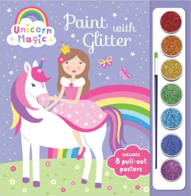 Unicorn Magic Paint with Glitter