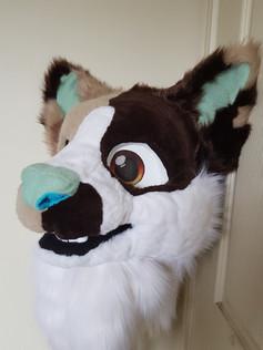 Calico Cat Head
