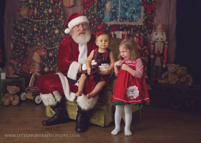 Santa | Lake County Family Photographer