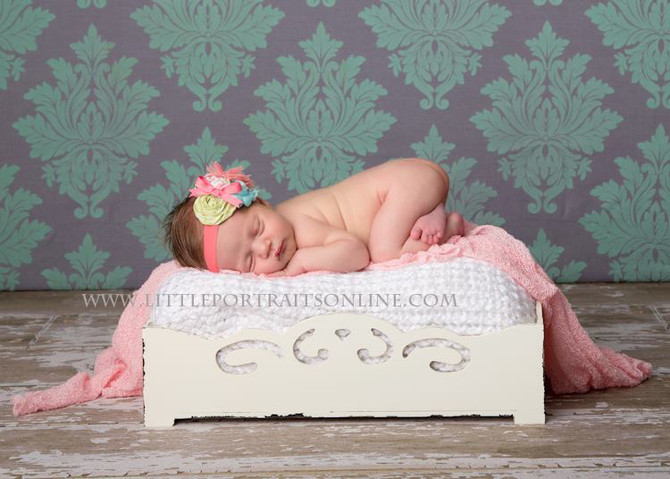 Eight days old | Lake County Newborn Photographer