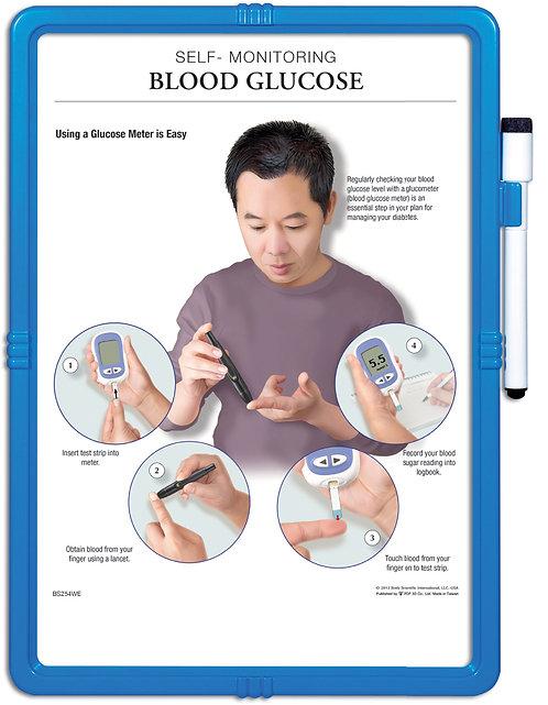 Understanding Diabetes & Blood Glucose - Wipe-off Easel