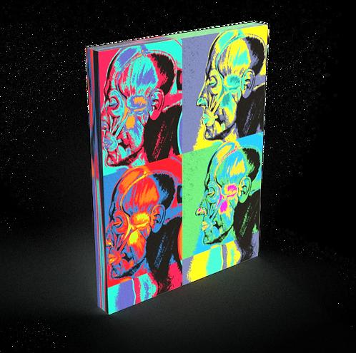 Facial Muscles Colorblock - Fine Art