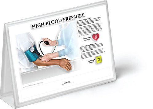 High Blood Pressure - Anatomical Tent Chart