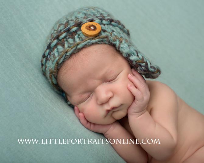 Aaron | Lake County Newborn Photographer