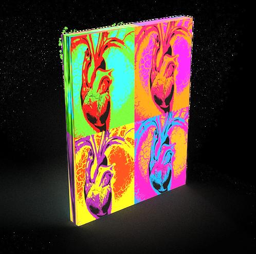 Heart Colorblock - Fine Art