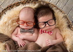 Twin Newborn photographer