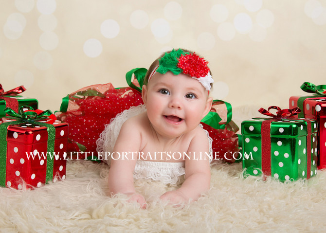 Merry Christmas | Lake County Newborn Photographer
