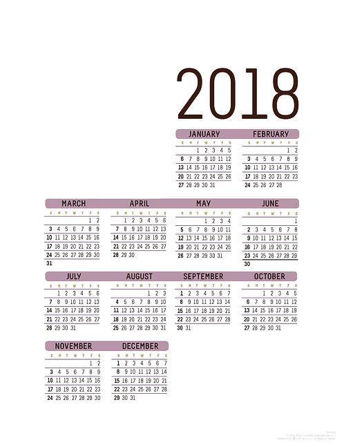 Custom - Wall Calendar