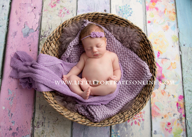 Marcie | Lake County Newborn Photographer