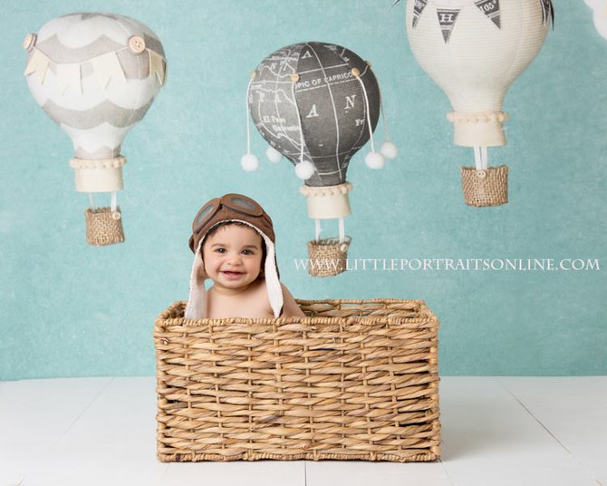 Balloon | Lake County Baby Photographer