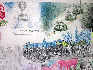 Lady Porter and the Poll Tax riots which actually took place the following year, but would not have happened without the action of the Tories in 1989
