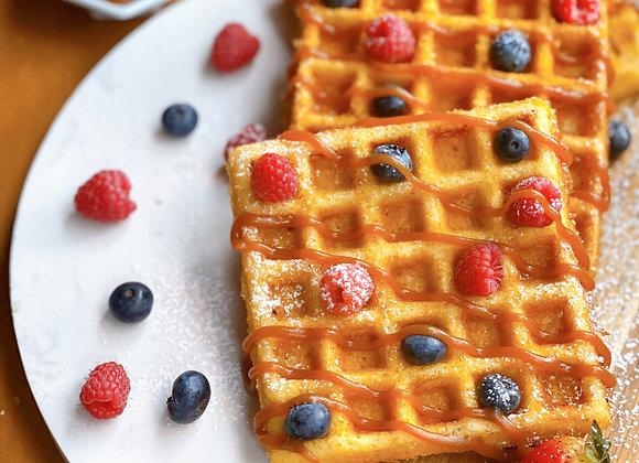 Waffle de Choclo