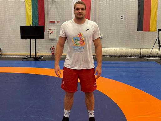 Markneukirchens Schwergewichtler Franz Richter glänzt mit Silber in Litauen