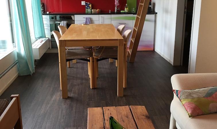Küche/Esstisch Apartment 3. OG