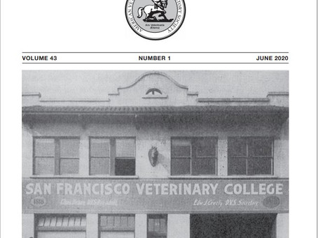 Veterinary Heritage June 2020