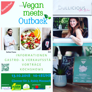 Bullicious Events bei Vegan meets Outback