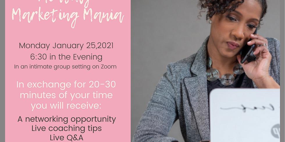 Marketing Mania -January