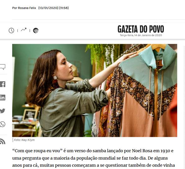 Matéria na Gazeta do Povo