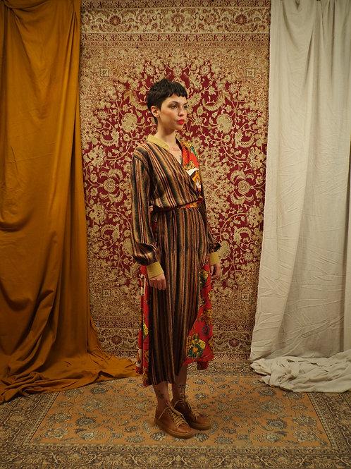 Vestido transpassado Amazona