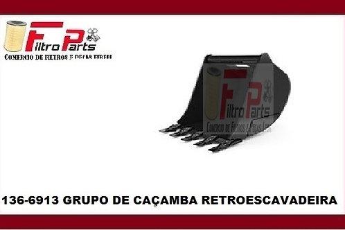 136-6913 GRUPO DE CAÇAMBA RETROESCAVADEIRA