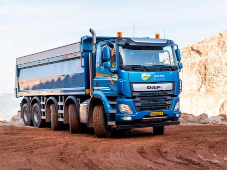 DAF lança nova linha de caminhões para construção