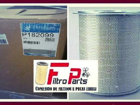 FILTRO P-182099 DONALDSON - CONVERSÕES AF-872M/ LL-2333/ P-182006/ AF-4871M.