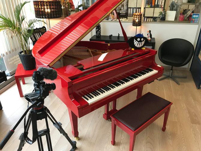 Vidéo promo, vidéo piano