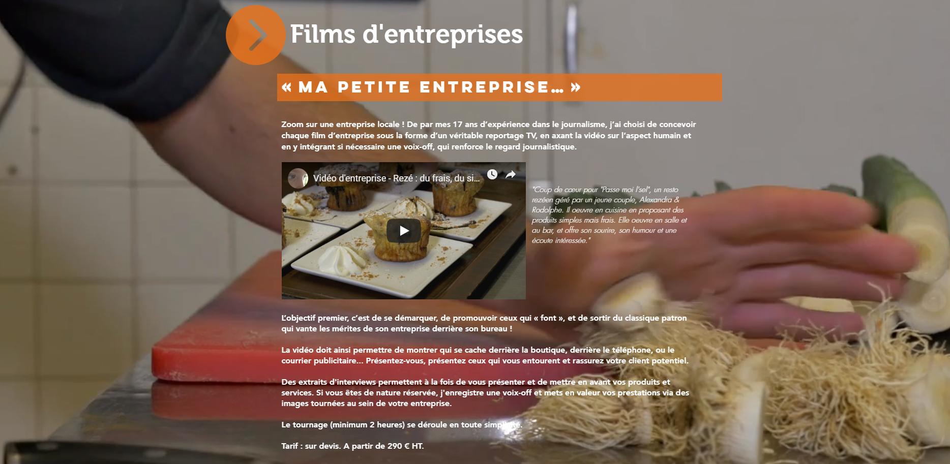 Video Entreprise Loire Atlantique Camani Films
