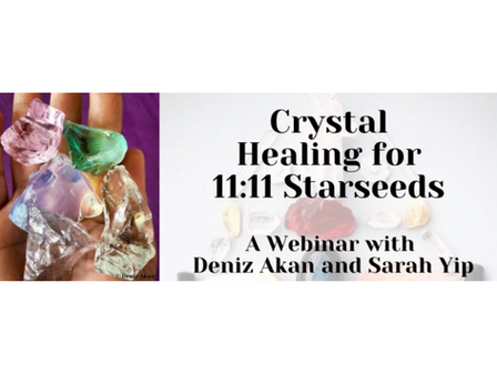 Crystal Healing for 11:11 Starseeds