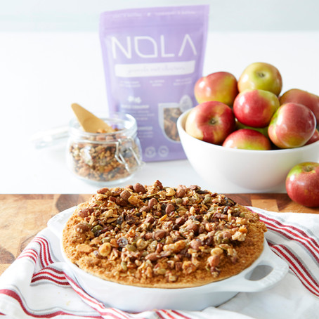 Simple, Gluten-Free and Vegan Apple Crumble Recipe