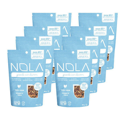 Vanilla Almond - Snack Pack (8 x 60g)