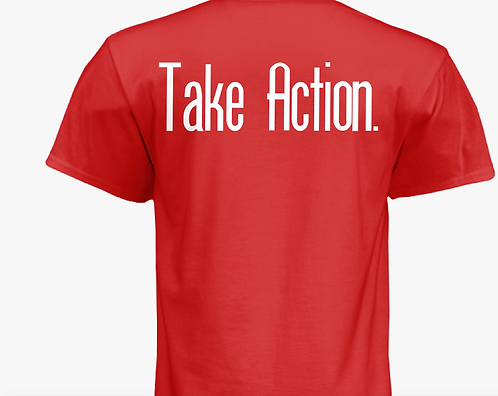 """Take Action"" Tee"