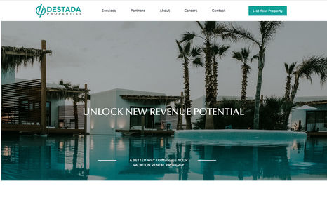 destada A classy property service website. Created this si...