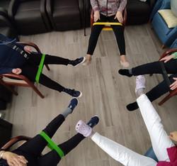 Fisioterapia grupal