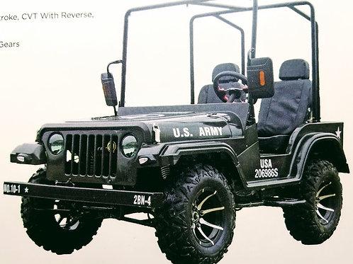 Sergeant Midi Jeep