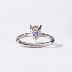 Gold and Moissanite birthstone Engagement ring-2.jpg