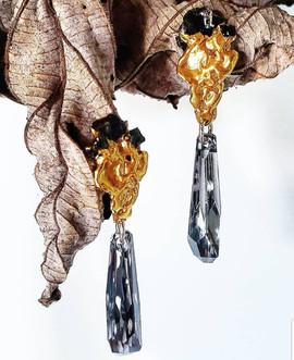 Custom-made earrings