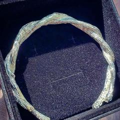 Custom Men's Silver Bracelet