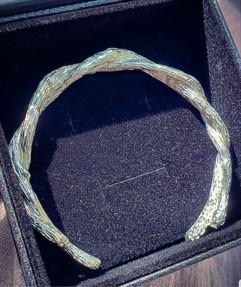 Custom Mens Silver Bracelet