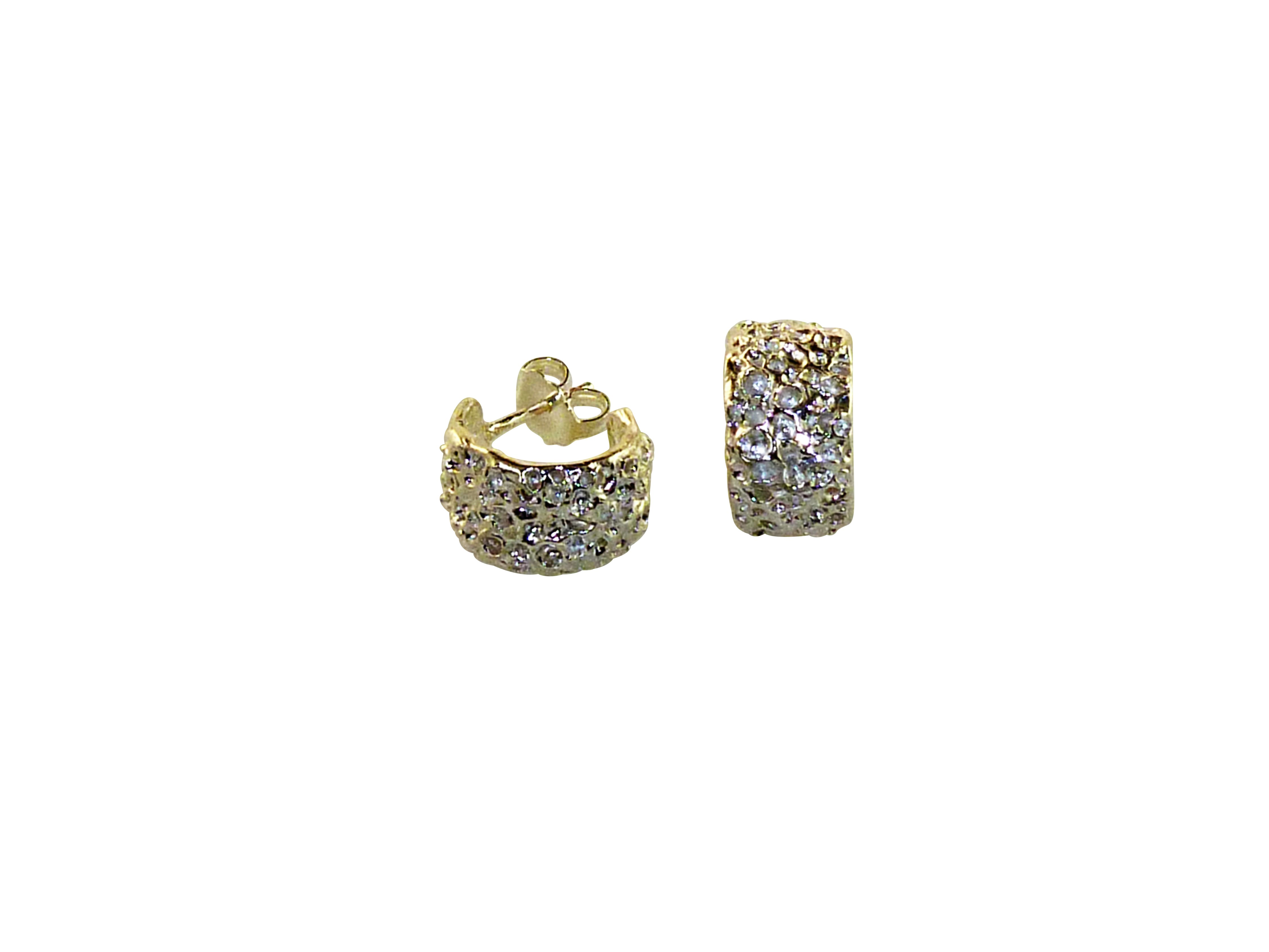 Forest Huggie Earrings