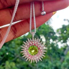 Custom Sunburst Chakra Necklace