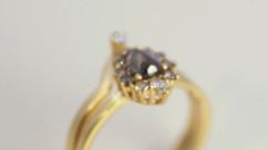 josanne mark custom made engagement ring