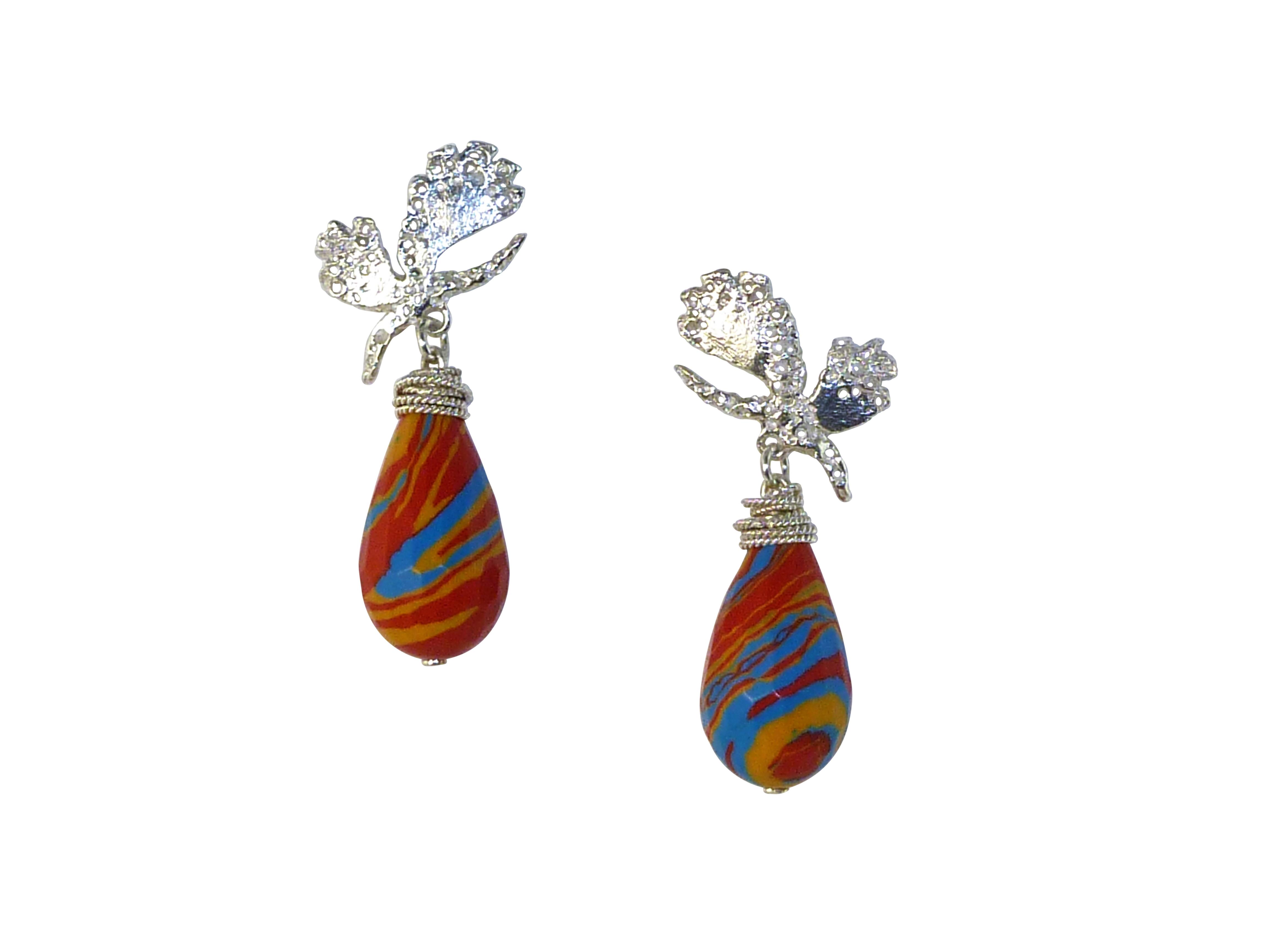 Butterfly Bush Earrings