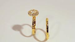 Custom Engagement Ring & Wedding Band