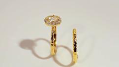 Custom made engagement ring by Josanne M
