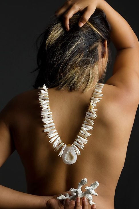One-of-a-kind Statement Necklace by Josanne Mark