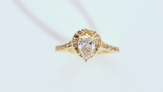josanne mark custom made diamond engagement/anniversary ring