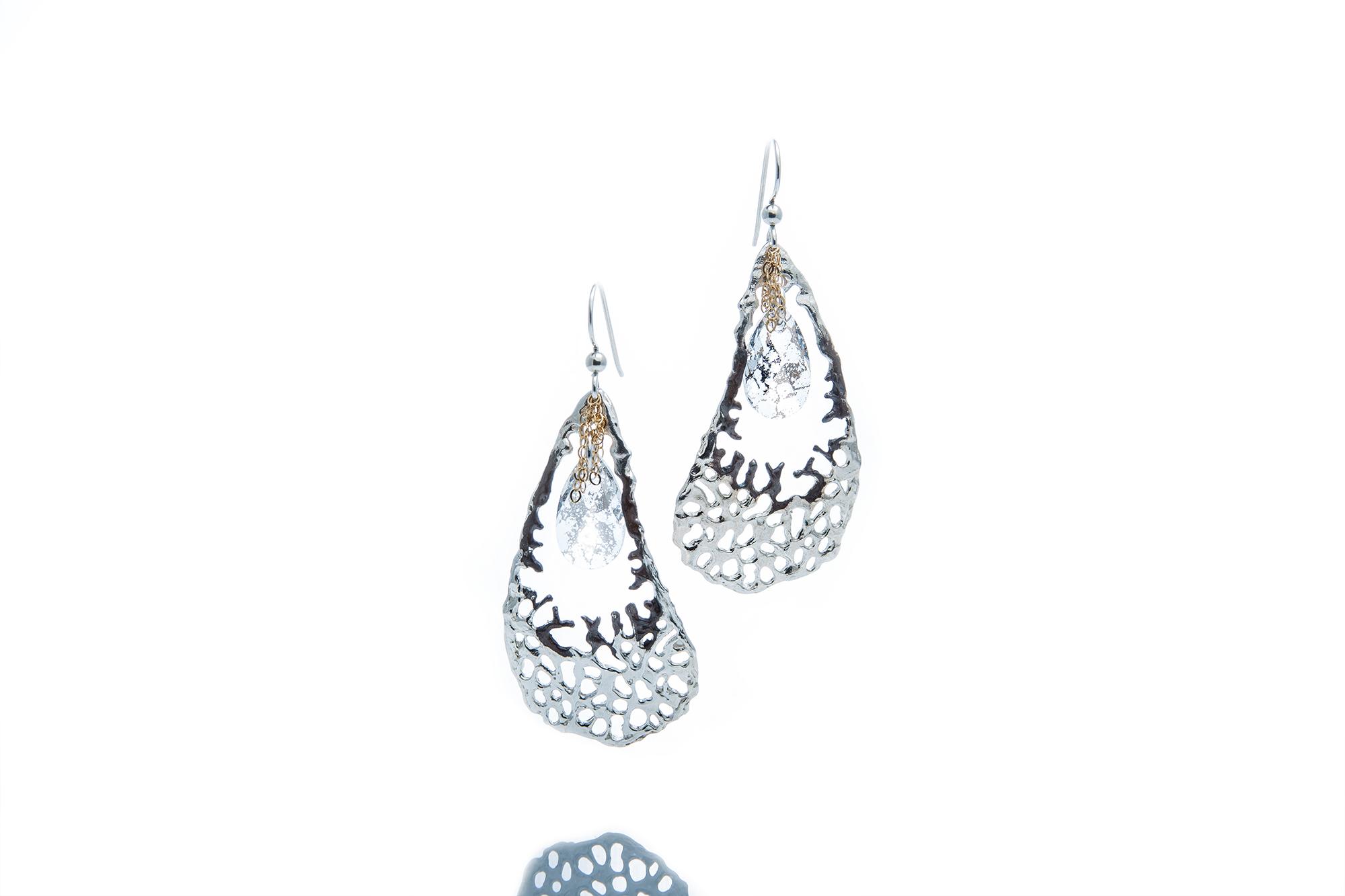 Sterling Silver Statement earrings