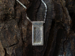 Sterling silver Small Window Pendant