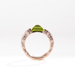 Custom Chakra Energy Point Ring